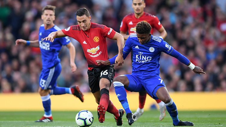 manchester United vs Leicester City Copyright: © INDOSPORT