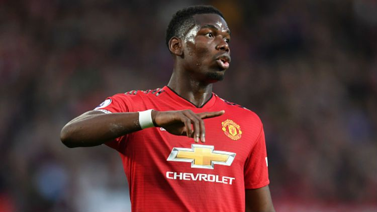 Gelandang Manchester United, Paul Pogba. Copyright: © Getty Images