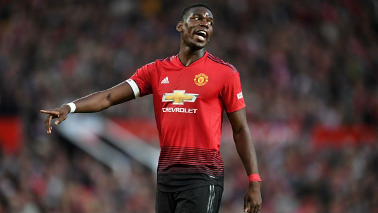 Gelandang Manchester United, Paul Pogba. Copyright: © INDOSPORT