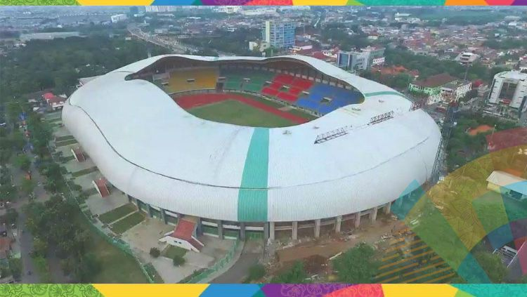 Stadion Patriot Bekasi, venue pertandingan sepak bola Asian Games 2018. Copyright: © INDOSPORT