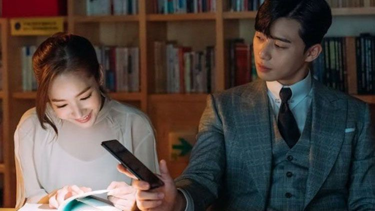 Park Seo Joon dan Park Min Young di What's Wrong with Secretary Kim. Copyright: © Drama What's Wrong with Secretary Kim