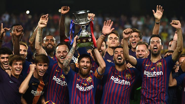 Barcelona juara Piala Super Spanyol 2018 Copyright: © Getty Images