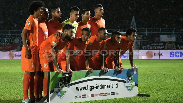 Skuat Borneo FC. Copyright: © Ian Setiawan/INDOSPORT