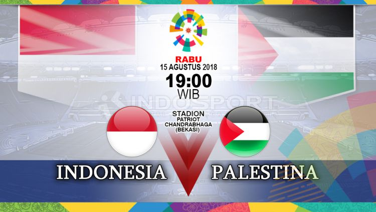 Prediksi Sepak Bola Asian Games 2018 Indonesia Vs Palestina Indosport