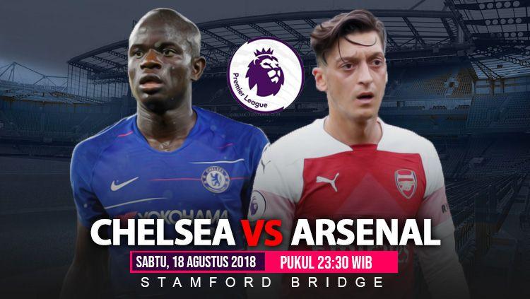 Link Siaran Langsung Liga Primer Inggris: Chelsea vs Arsenal Copyright: © INDOSPORT