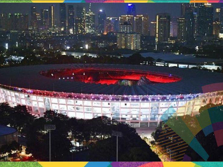 Bocoran Penampakan Panggung Mewah Opening Ceremony Asian Games 2018