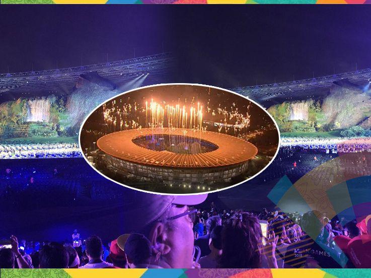 Asia Berpesta, Semarak Opening Ceremony Asian Games 2018