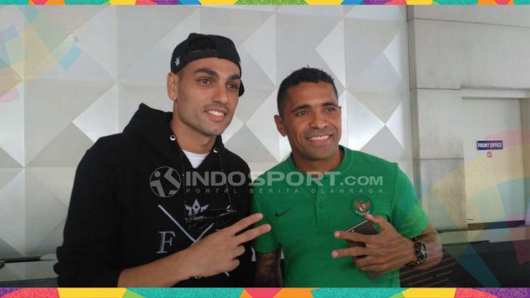 Jaimerson da Silva dan Beto Goncalves Copyright: © Petrus Manus Da'Yerimon/Indosport.com