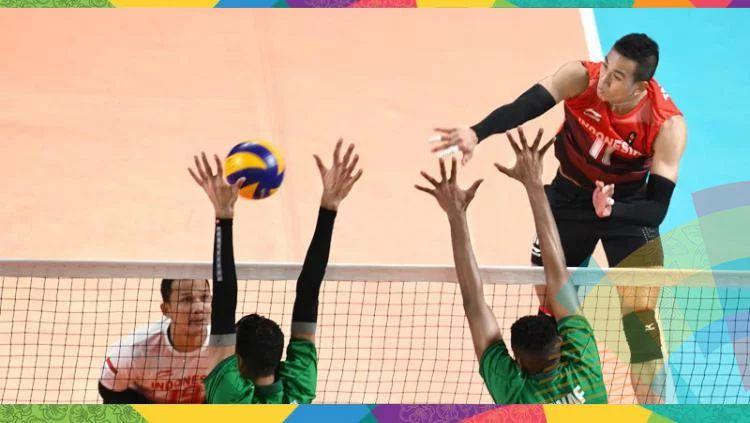 Tim voli putra Indonesia di Asian Games 2018. Copyright: © INDOSPORT