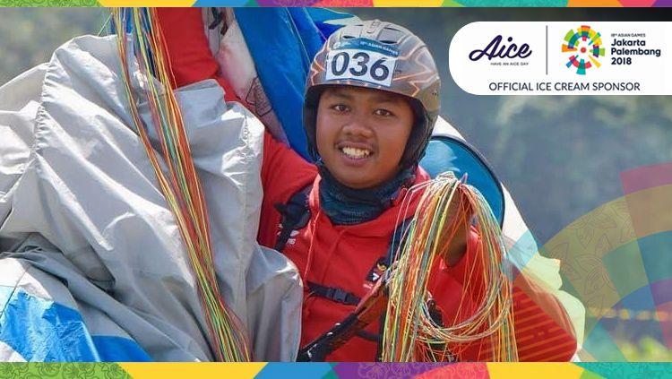 Jafro Megawanto berhasil sumbang medali emas di Asian Games 2018. Copyright: © INDOSPORT