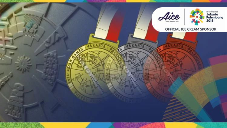 Medali Asian Games 2018. Copyright: © INDOSPORT