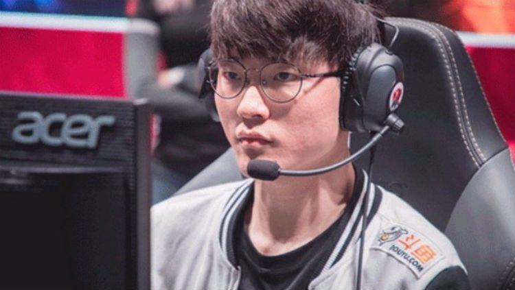 Lee Sang-hyeok, gamer League of Legens (LoL) terkenal asal Korea Selatan. Copyright: © Allkpop