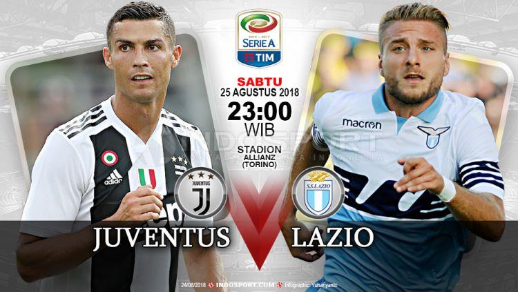 Juventus vs Lazio (Prediksi) Copyright: © Indosport.com
