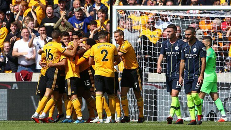 Wolverhampton Wanderers akan menjadi lawan terakhir Liverpool di ajang Liga Primer Inggris 2018/19. Copyright: © Getty Images