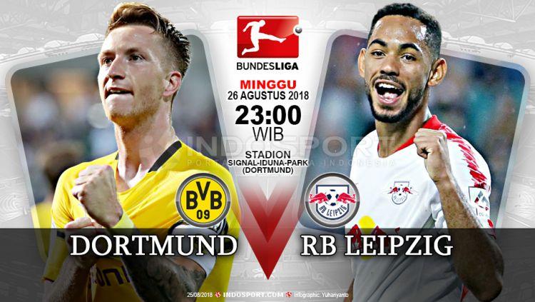 Borussia Dortmund vs RB Leipzig (Prediksi) Copyright: © Indosport.com