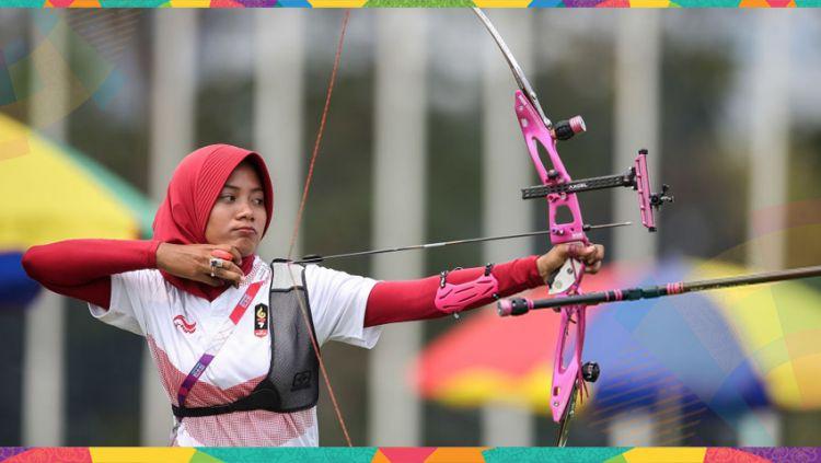 Diananda Choirunisa sumbang medali perak untuk Indonesia. Copyright: © Getty Images