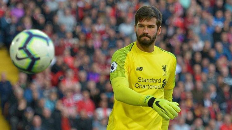 Kiper Liverpool, Alisson Becker. Copyright: © Getty Images