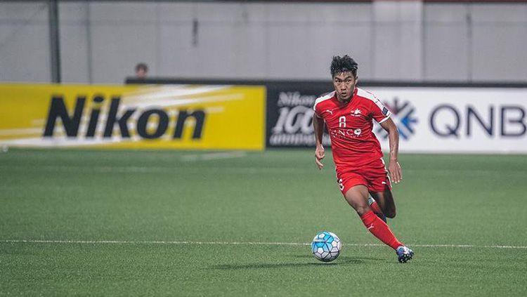 Pemain Home United Song Ui-Young yang tertarik gabung ke Persija Jakarta. Copyright: © fourfourtwo.com