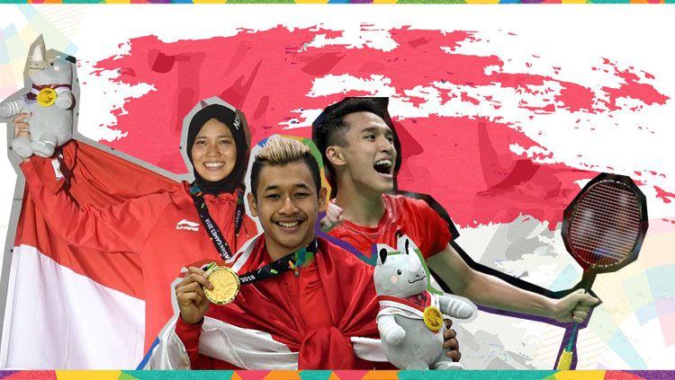 Deretan atlet Indonesia sukses curi perhatian di Asian Games 2018. Copyright: © Eli Suhaeli/INDOSPORT