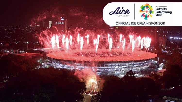 Kemegahan saat pembukaan Asian Games 2018. Copyright: © Getty Images