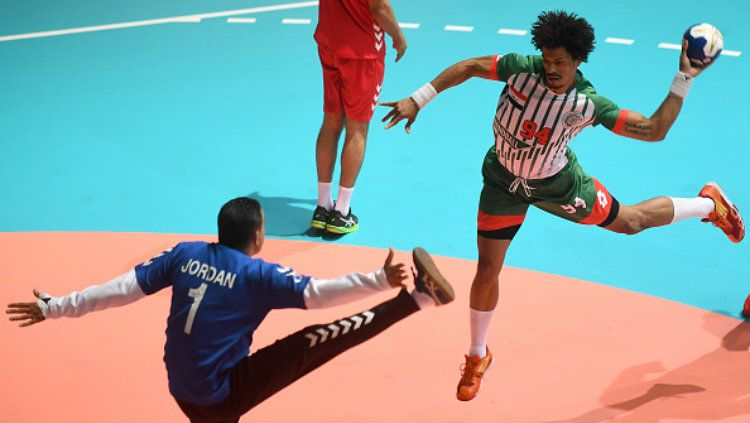 Atlet bola tangan Irak, Naser Baderaldeen. Copyright: © Getty Images