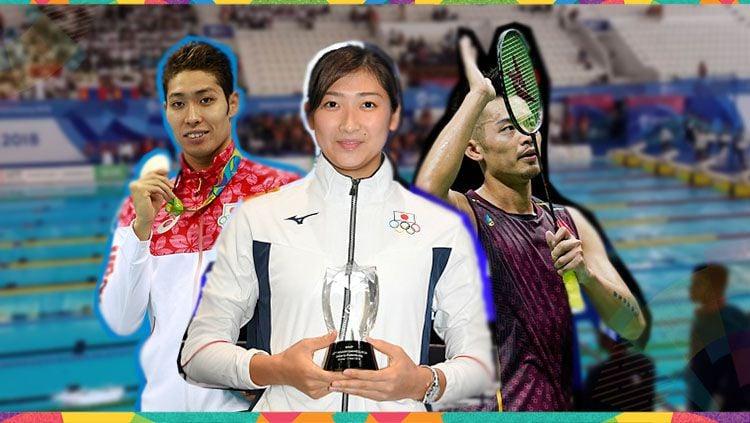 Empat peraih medali sekaligus jadi pemain terbaik atau MPV. Copyright: © INDOSPORT