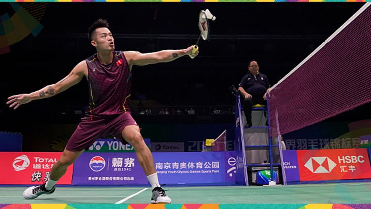 Atlet bulutangkis China, Lin Dan pernah menjadi MVP Asian Games 2010. Copyright: © Getty Images