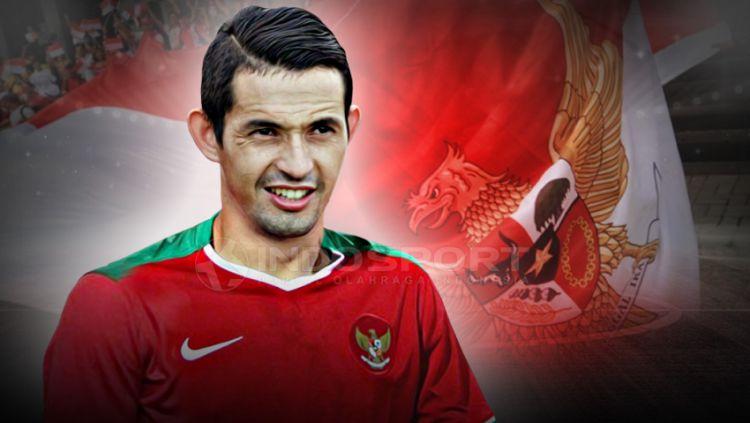 Silvio Escobar, pemain naturalisai Persija Jakarta. Copyright: © Indosport.com