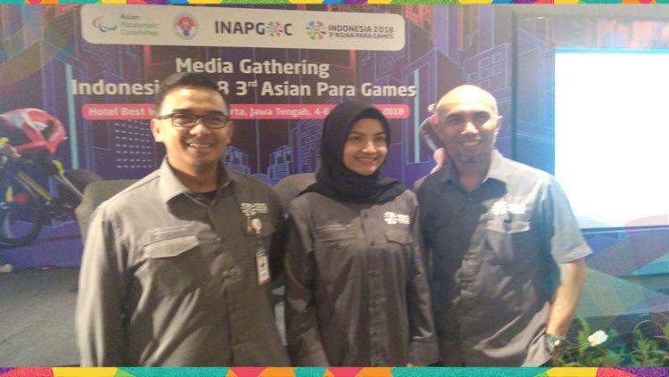 M.Farhan, Tina Talisa, Fanny Irawan Copyright: © INAPGOC