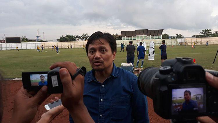 Manajer Barito Putera Hasnuryadi Sulaiman. Copyright: © Klik Kalsel/Wahyu