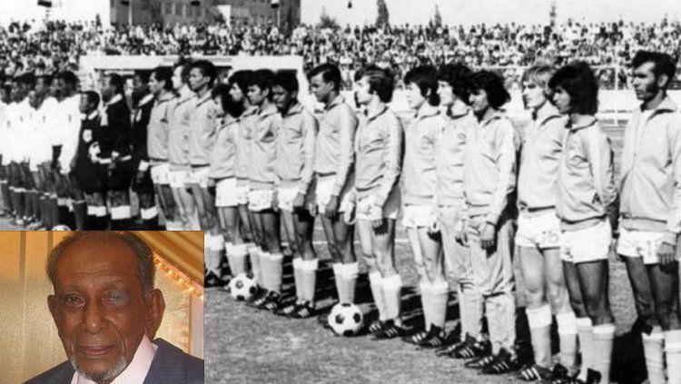 Mohammad Anwar Elahee, legenda sepakbola Mauritius Copyright: © Istimewa