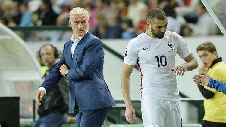 Hubungan antara Deschamps dan Benzema belum kunjung membaik Copyright: © Football5star