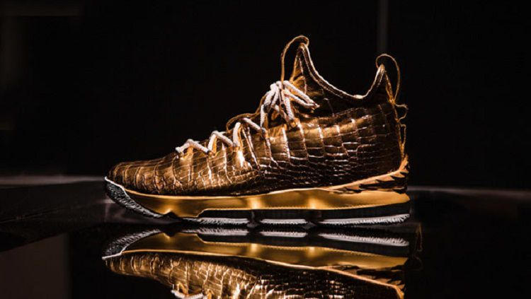 LeBron dihadiahi sepatu mewah oleh Nike seharga 1 miliar Copyright: © rappler