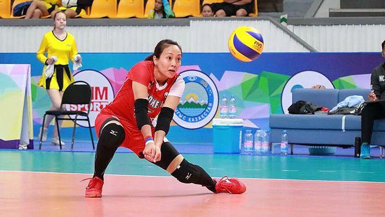 Atlet voli putri Indonesia Berllian Marsheilla. Copyright: © Twitter/@Berllian_5