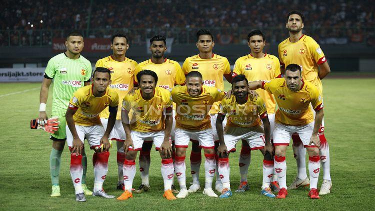 Skuat Selangor FA saat beruji coba dengan Persija. Copyright: © INDOSPORT/Herry Ibrahim