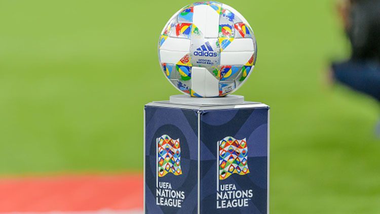 Bola resmi UEFA Nations League. Copyright: © Getty Images