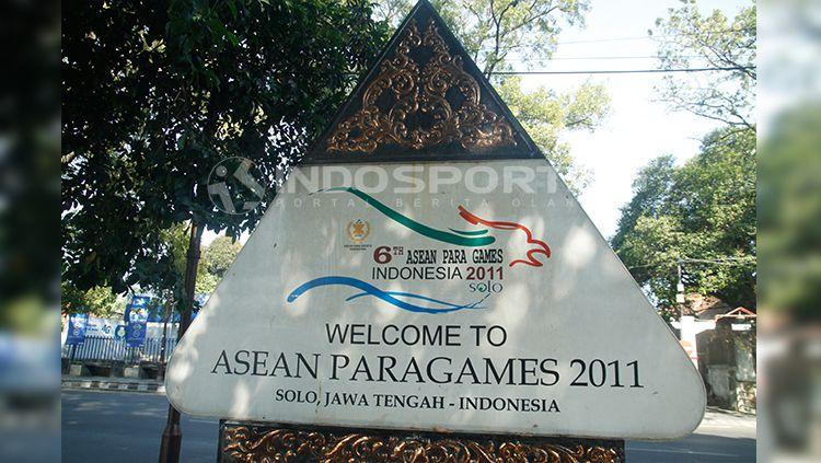 Stadion Sriwedari menjadi venue ASEAN Para Games 2011. Copyright: © Abdurrahman.R/INDOSPORT