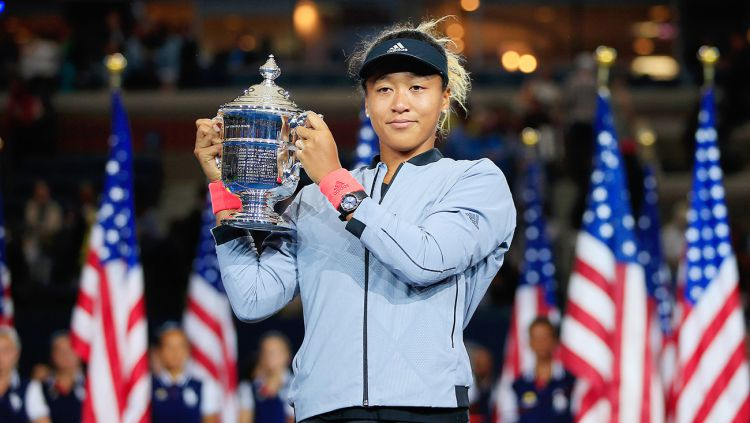 Naomi Osaka, petenis asal Jepang. Copyright: © Getty Images
