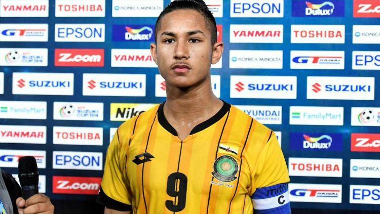 Pemain Brunei Darusalam, Faiq Bolkiah. Copyright: © sincortapisa