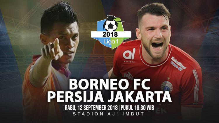 Borneo FC vs Persija Jakarta. Copyright: © INDOSPORT