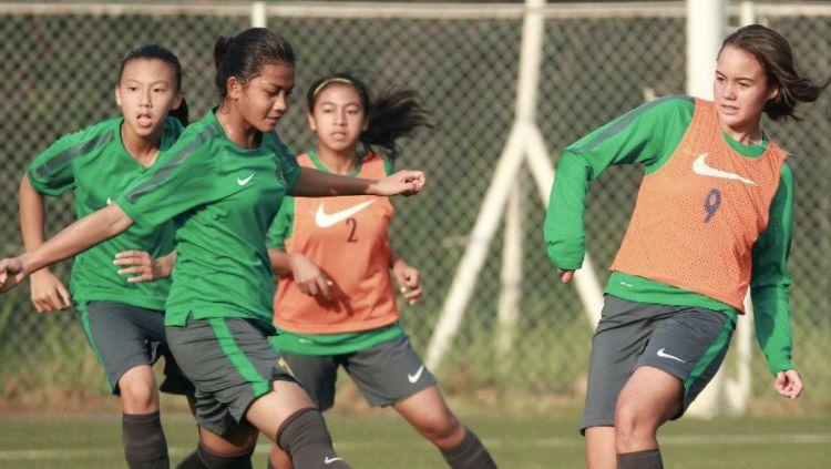 Timnas Indonesia U-16 Putri. Copyright: © twitter.com/PSSI