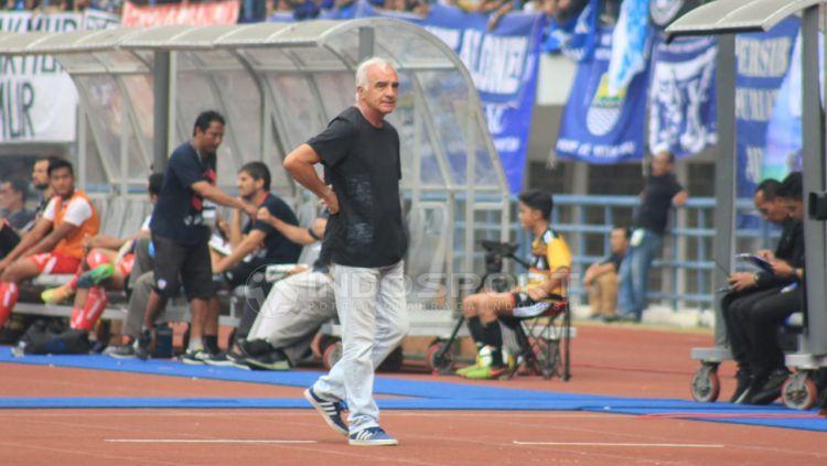 Pelatih Persib Bandung, Mario Gomez. Copyright: © Arif Rahman/Indosport.com