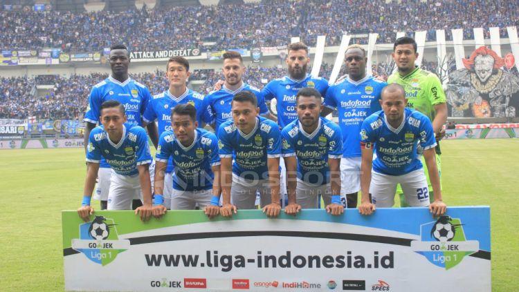 Skuat Persib Bandung. Copyright: © Arif Rahman/Indosport.com