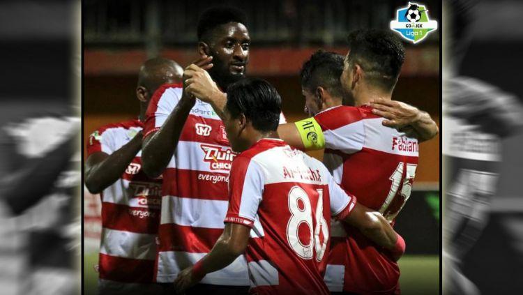 Madura United vs Mitra Kukar. Copyright: © Instagram@ pengamatsepakbola