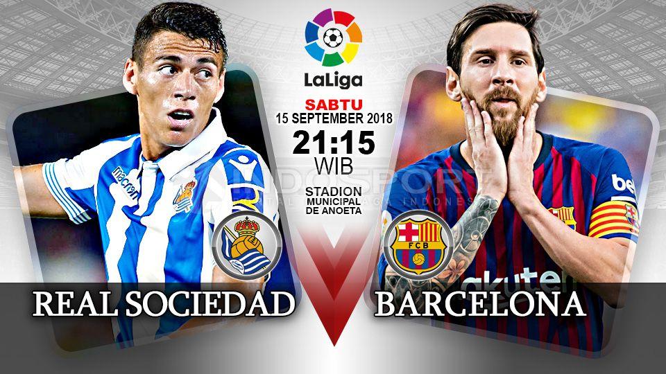 Nhận định Real Sociedad vs Barcelona: Ẩn họa Anoeta
