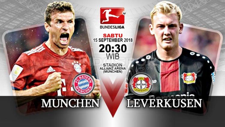 Bayern Munchen vs Bayer Leverkusen (Prediksi) Copyright: © Indosport.com