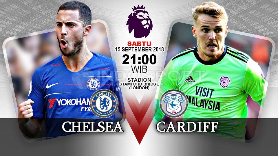 Link trực tiếp Chelsea vs Cardiff, 21h00 ngày 15/9 (Vòng 5 Ngoại hạng Anh)