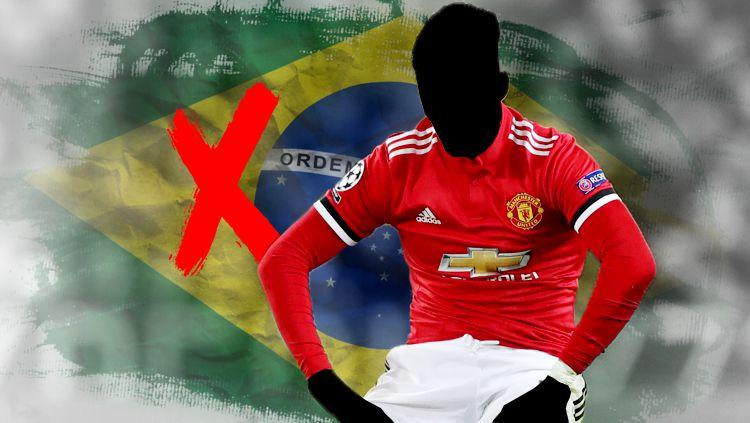 Ilustrasi pemain Brasil gagal di Man United. Copyright: © INDOSPORT