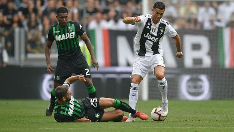 MNC Vision dan MNC Play menggandeng beIN Sports dan Indosport.com menggelar acara nonton bareng Serie A Italia Juventus vs Sassuolo Copyright: © Getty Images