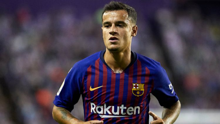 Philippe Coutinho, gelandang serang Barcelona. Copyright: © Getty Images